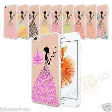 Butterfly Dress Cream Hard Case Cover For Various Mobile Phones