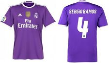 Trikot Adidas Real Madrid 2016-2017 Away WC Sergio Ramos - Badge Klubweltmeister