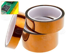 20/30/50mm x 33m Kapton Polyimide Coat High Temperature Tape Protect SMD BGA
