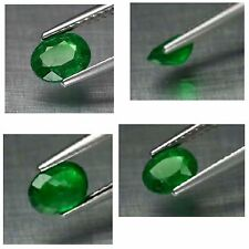 0.91ct 6.5x5mm Oval Natural, unheated untreated Medium Green Tsavorite Garnet, T