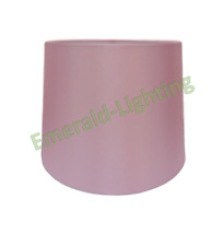 """8"""" 10"""" 12"""" Empire Drum Silk Fabric Lamp Light Shade Table Lamp Ceiling BABY PINK"""