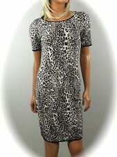 MARCCAIN COLLECTIONS  STRICK KLEID ~ ANIMAL  N1/34 N2/36  N5/42 N6/44 ~ NEU ~