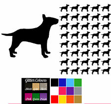 English Bull Terrier Stickers Craft Decals Phone Laptop Bull Terrier Decal Dog