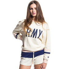 SUDADERA CHICA GRIMEY WALK ON BY GIRL CREWNECK SS17 ANTIQUE WHITE