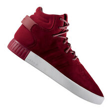 adidas Originals Tubular Invader Sneaker Rot Weiss