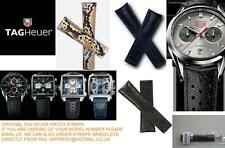 TAG HEUER GENUINE LEATHER PYTHON F1 AQUARACER MONZA MONACO CARRERA WATCH STRAP