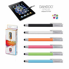 WACOM BAMBOO STYLUS PUNTERO PARA APPLE IPAD/IPHONE/SAMSUNG GALAXY/SONY XPERIA/