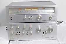 Vintage Pioneer SA 9500 Integrated Amplifier and Pioneer TX 9500 Stereo Tuner