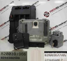 Renault Scenic 2003-2009 1.9 dCi ECU SET UCH BCM Immobiliser + 2 Key Cards