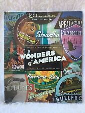 2006 USPS WONDERS OF AMERICA Stamp Book Collecting Book + 40 Stamps Sheet NEW