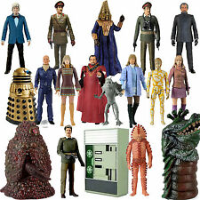 """DOCTOR WHO CLASSIC LOOSE 5"""" 3rd DOCTOR ERA FIGURES - Please choose from list"""