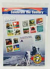 Celebrate the Century 1960s Mint in Unopened Original Package Postage Stamps