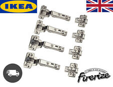 IKEA Komplement Pax Wardrobe Hinges 4 pack Standard & Silent Soft Closing - UK √