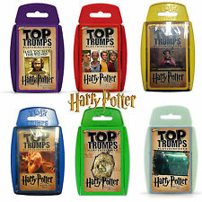 HARRY POTTER EDIZIONE SPECIALE TOP TRUMPS DA LA FAMOSA Film - Collect TUTTI 6