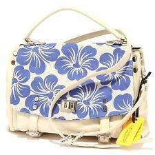 9716R borsa donna MARKS&ANGELS LUCY MEDIUM BICOLORE beige/blu tracolla bag woman