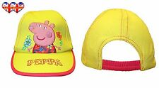 Children Cap,Official Licensed Girls Lemon Peppa Pig Cap Hat Baseball Cap