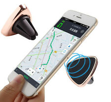 Magnetic Triangle Shape Car Mount Phone Stand Holder Cradle Air Vent Universal