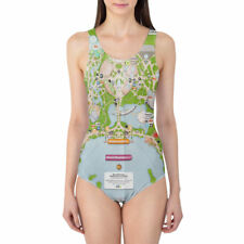 Epcot Center Map Women's Swimsuit One Piece