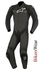 Alpinestars Challenger V2 Leather 1PC one Piece Motorcycle Race Suit Black