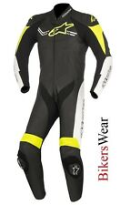 Alpinestars Challenger V2 Leather 1PC one Piece Motorcycle Race suit Fluo
