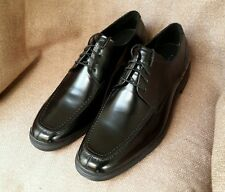 Branded Authentic Men's Leather Oxford Shoes Black Split Toe Nike Air W/0 box
