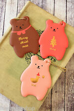 Monopoly TOFFEENUT BEAR Pocket HAND MIRROR cute cosmetic tool keychain bag charm