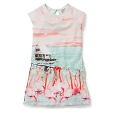 ✿JOTTUM✿ Sweat Kleid SWIFT FLAMINGO multicolor Gr.110-152 UVP 99,95