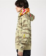 A BATHING APE TIGER CAMO TIGER FULL ZIP HOODIE FROM JAPAN BAPE Authentic