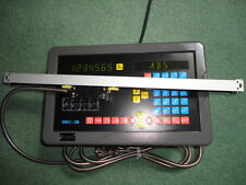 Digital Readout and Linear Measuring Scale for Single Axis Machines