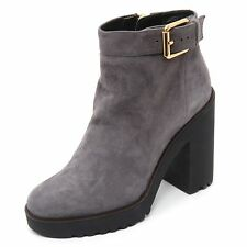 B7390 tronchetto donna HOGAN ROUTE 275 scarpa grigio boot shoe woman