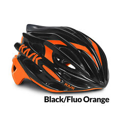 Kask Mojito Road Helmet Cycling Helmet Black/Fluo Orange