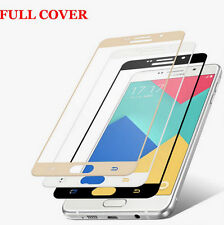 """Full Cover Color Tempered Glass Screen Protector For """"Samsung Galaxy C9 PRO"""""""