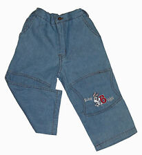 Babyhose Baby Sommer Jeans Sommerhose Bugs Bunny Disney Gr.80 86