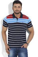 Arrow Sports Striped Mens Polo Neck T-shirt (Flat50% OFF) -CTS