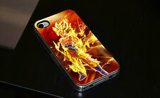 Goku Super Saiyan Dragon Ball Z DBZ Cover Rigida Per Telefonino per iPhone 4 4s
