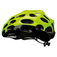 Catlike Mixino Road Helmet Cycling 39 Vents Lightweight Yellow Fluo/Black