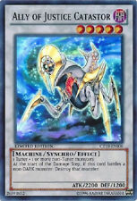 YUGIOH Ally of Justice Catastor CT10-EN006 Limited Edition (SR) Near Mint