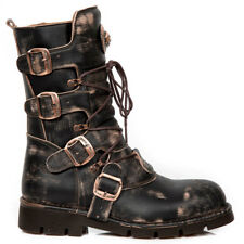 New Rock Gothic EBM Metal Ranger Steampunk Alternative Boots Stiefel M.1473-S48
