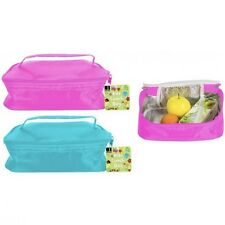 Kids Adults INSULATED LUNCH COOL BAG KEEPS FOOD DRINK COLD Work/School Pouch/Box