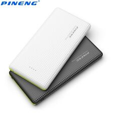 10000mAh Power Bank Charger External USB Battery Pack w Built in Charging Cable