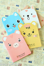 Cute Animals Shaped Notebook colorful cartoon blank pocket jotter wriing memo