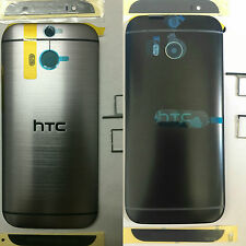 HTC One M8 Rear Battery Door Housing Back Panel Case Grey/Balck