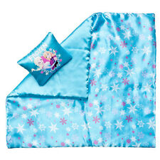 Build a Bear Disney Frozen Bedding - Comforter & Pillow with Elsa & Anna- New