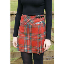Glen Appin Ladies Royal Stewart Tartan 'Isobel' Billie Kilt 100% Wool