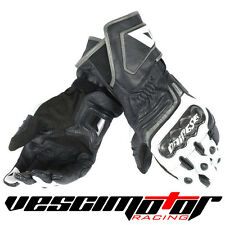 Guanti Dainese Carbon D1 Long Gloves Black/White/Antracite