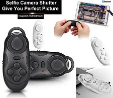 Bluetooth Wireless Selfie Shutter Remote Gamepad Controller For VR Android UK