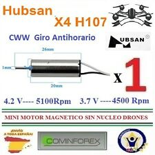 Motor brushless/Helices/Bateria/Cargador Cuadcopter Dron HUBSAN X4  H107/C/D/A23