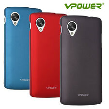 Vpower Ultra Thin Glossy Case for Nexus 5, Free Screen Guard - Pick your Color