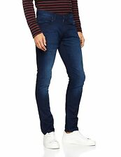 MENS Ex-Lee Luke Skinny Stretch Night Shadow JEANS  RRP£85 ( SECONDS ) L139