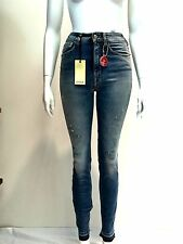 jeans pantalone donna Cycle cotone elasticizzato mod. WPT492 D1139  made Italy